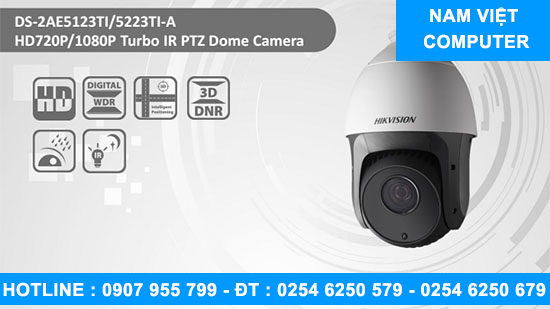 Camera Speed Dome HDTVI HIKVISION DS-2AE5123TI-A - lap camera vung tau