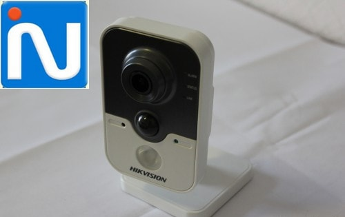 Camera IP CUBE HIKVISION DS-2CD2410F-IW - lap camera vung tau