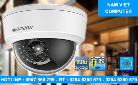 Camera IP Dome HIKVISION DS-2CD2120F-IWS - lap camera vung tau